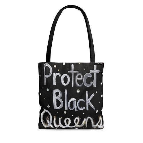 """BLACK QUEENS"" Tote Bag"