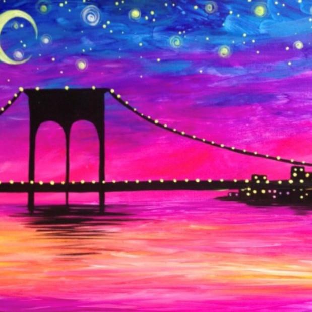 "Wine Down Wednesdays - ""Manhattan Glow Bridge"""