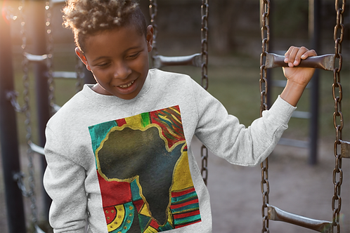 """""""MAMA AFRICA"""" Kids Sweatshirt"""