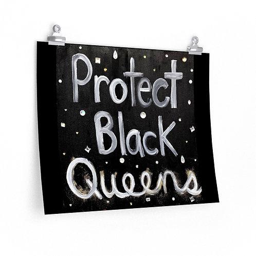 """'BLACK QUEENS"""" Poster"""