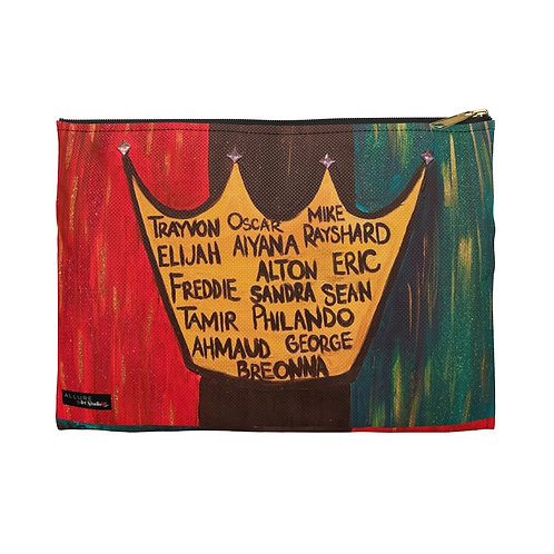 """BLACK ROYALTY"" Accessory Pouch"