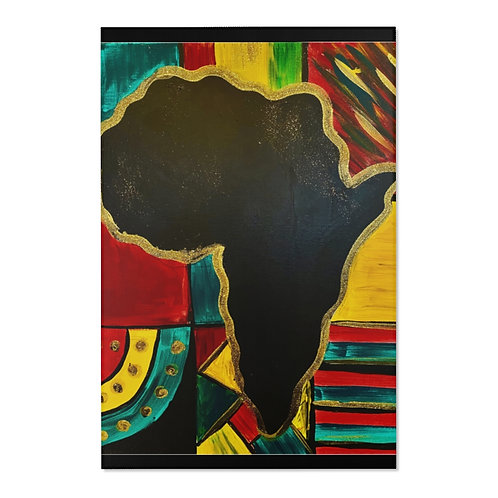 """MAMA AFRICA"" Area Rug"