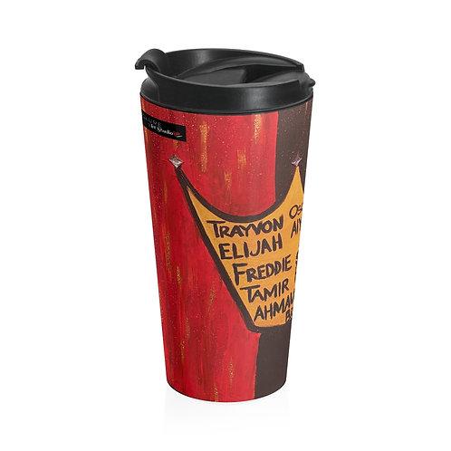 """""""BLACK ROYALTY"""" Travel Mug"""