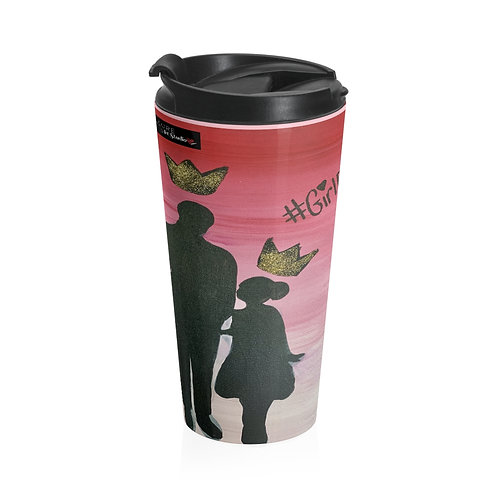 """GIRL DAD"" Travel Mug"