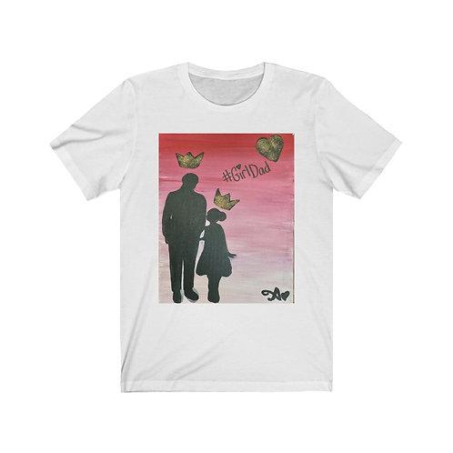 """GIRL DAD"" Unisex T-Shirt"
