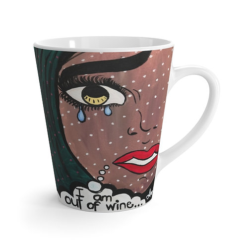 """POUR IT UP"" Latte Mug"