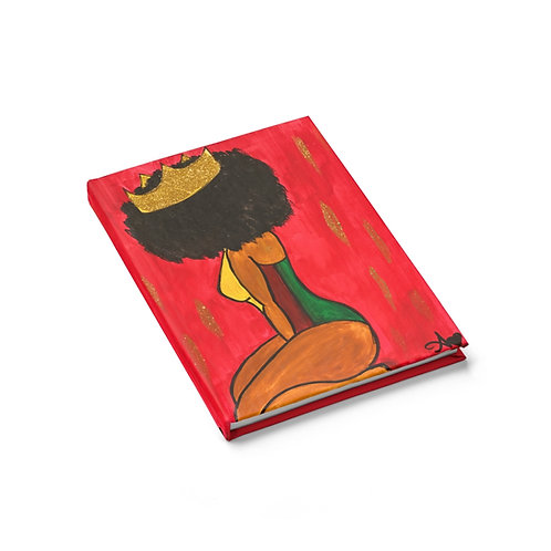 """BOW DOWN"" Hardcover Journal"