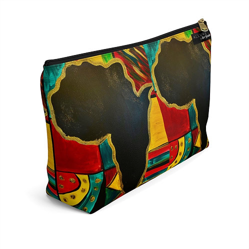 """""""MAMA AFRICA"""" Accessory Pouch w/ T-bottom"""