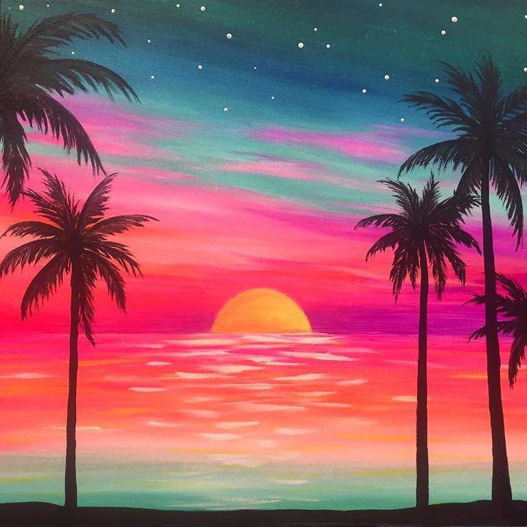 "Wine Down Wednesdays - ""Neon Sunset"""