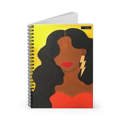 """""""HER ALLURE"""" Spiral Notebook"""
