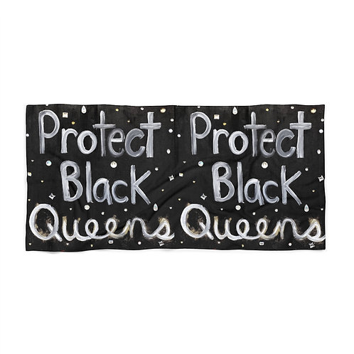 """BLACK QUEENS"" Beach Towel"