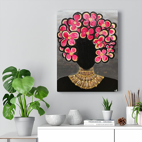 """SHE'S ROYAL"" Canvas Print"