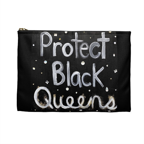 """BLACK QUEENS"" Accessory Pouch"