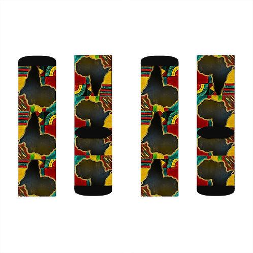 """MAMA AFRICA"" Socks"
