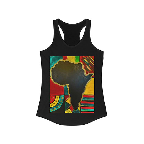 """MAMA AFRICA"" Racerback Tank"
