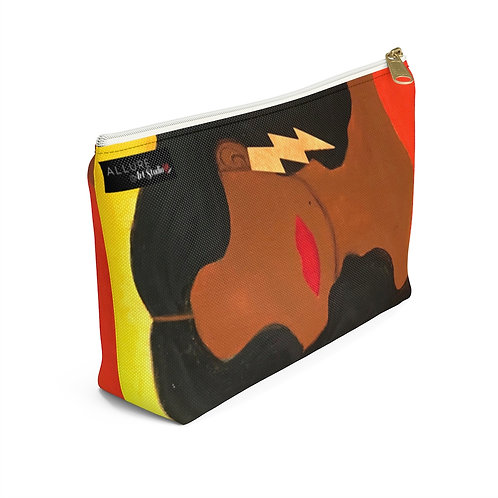 """HER ALLURE"" Accessory Pouch w/ T-bottom"