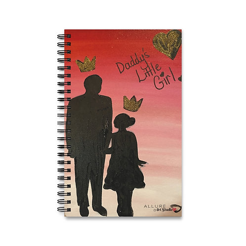"""#GIRLDAD"" Spiral Notebook"