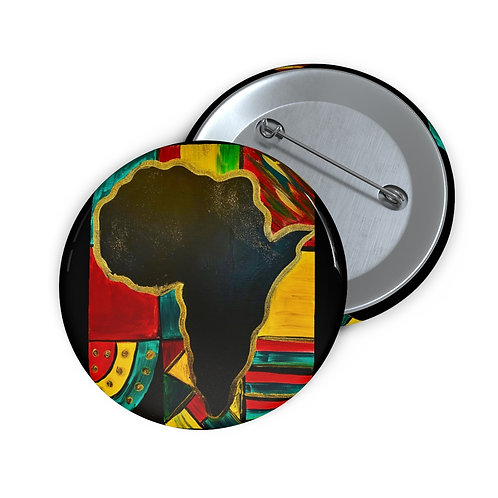 """MAMA AFRICA"" Pin Button"