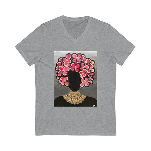 """SHE'S ROYAL"" Unisex V-Neck"