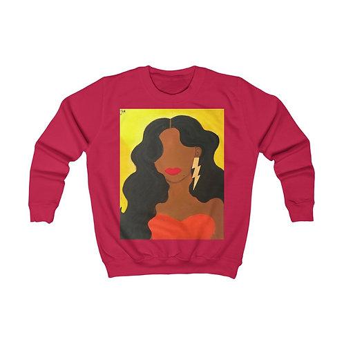 """""""HER ALLURE"""" Kids Sweatshirt"""