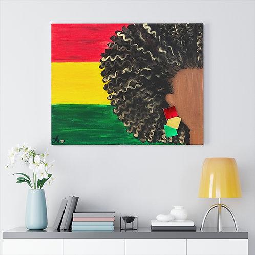 """ISLAND GAL"" Canvas Print"