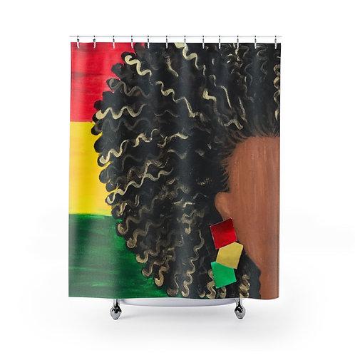 """ISLAND GAL"" Shower Curtain"