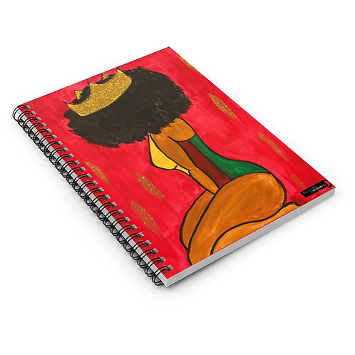 """""""BOW DOWN"""" Spiral Notebook"""