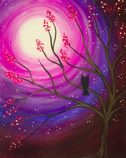 Moonlight Branches