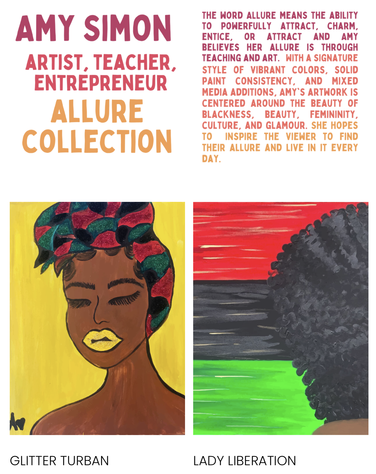South Queens Women's March Virtual Art Gallery Feature