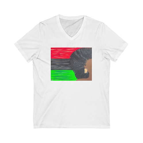 """LADY LIBERATION"" Unisex V-Neck"