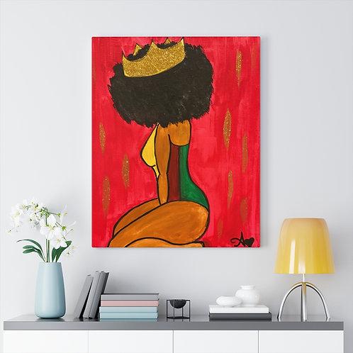 """""""BOW DOWN"""" Canvas Print"""