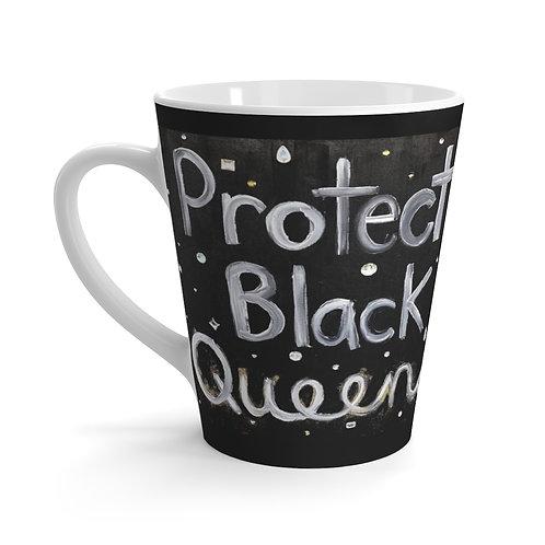 """'BLACK QUEENS"""" Latte Mug"""