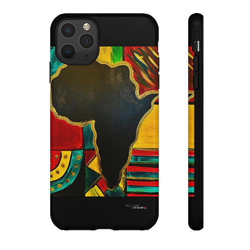 """MAMA AFRICA"" Cell Phone Case"