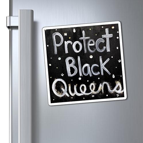 """""""BLACK QUEENS"""" Magnet"""