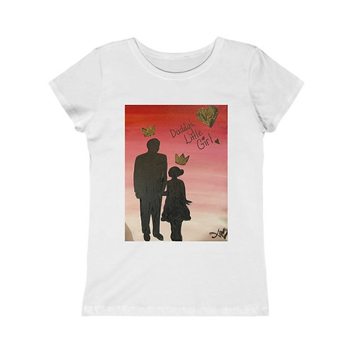 """DADDY'S LITTLE GIRL"" Junior Girls T-Shirt"