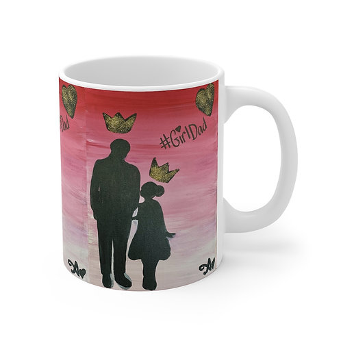 """GIRL DAD"" Coffee Mug"