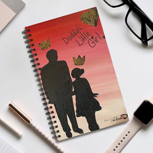 """#GIRLDAD"" Spiral Notebook"