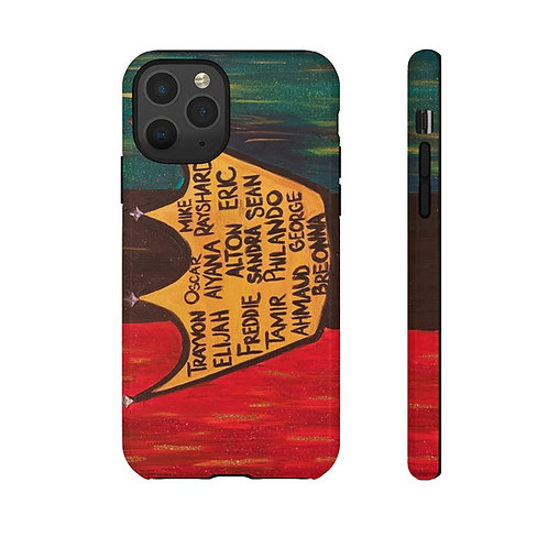 """""""BLACK ROYALTY"""" Cell Phone Case"""