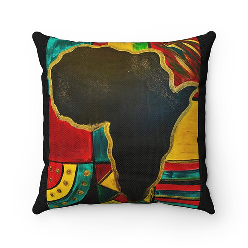 """MAMA AFRICA"" Square Pillow"