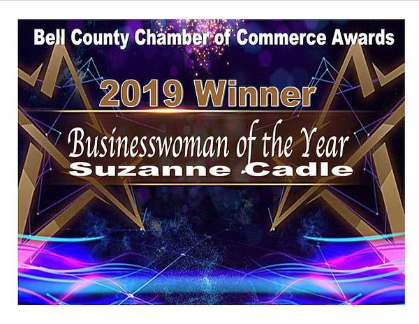 Award Winner Business Woman of the Year.