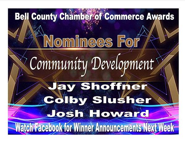 Award Presentation Community Development