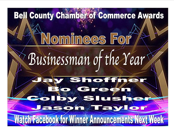 Award Presentation Businessman of the Ye