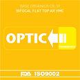 Orgánico Blanco CR-39 Bifocal Flat Top con AR HMC