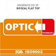 Orgánico CR-39 Bifocal Flat Top