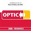 Orgánico CR-39 Multifocal con AR HMC