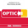 Orgánico CR-39 Multifocal con AR HMC