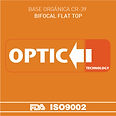 Orgánico Blanco CR-39 Bifocal Flat Top