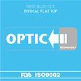 Blue Cut Bifocal Flat Top