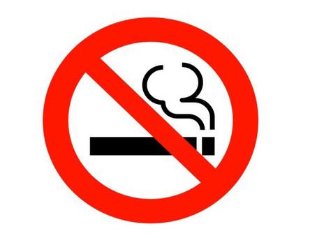 9月1日(火)より店内全面禁煙のお知らせ