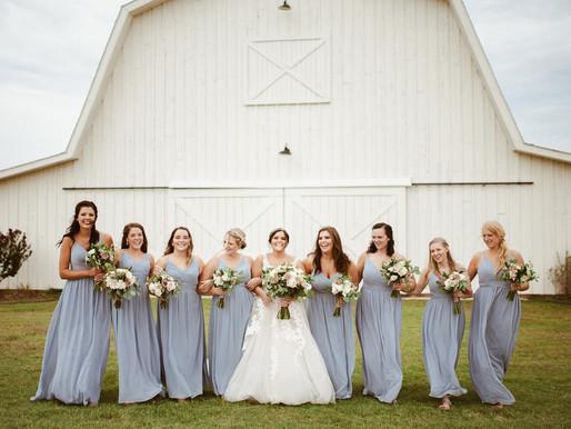 Mike & Miranda, Beautiful Barnyard Wedding